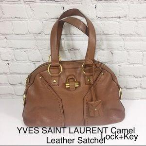 YSL MUSE Leather Satchel Lock+Key+ TRR Dustbag